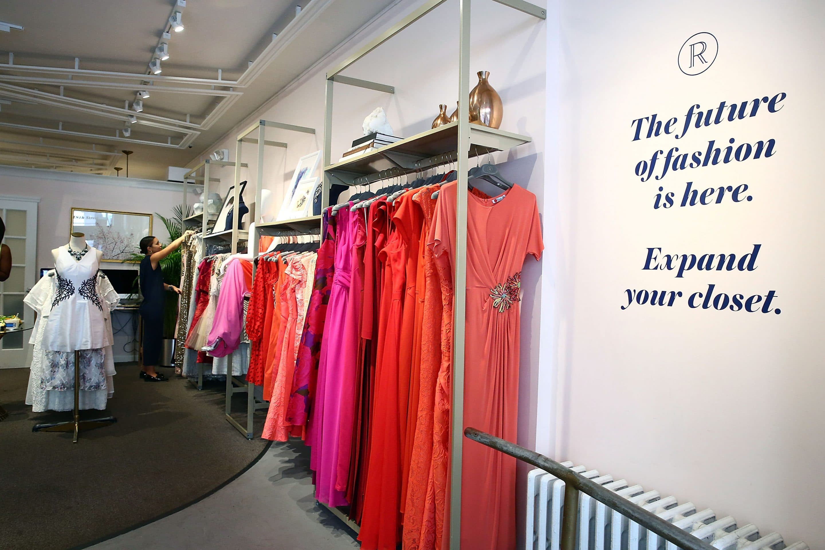 Rent the Runway, NEW YORK, NY. Photo credit : Astrid Stawiarz/Getty Images